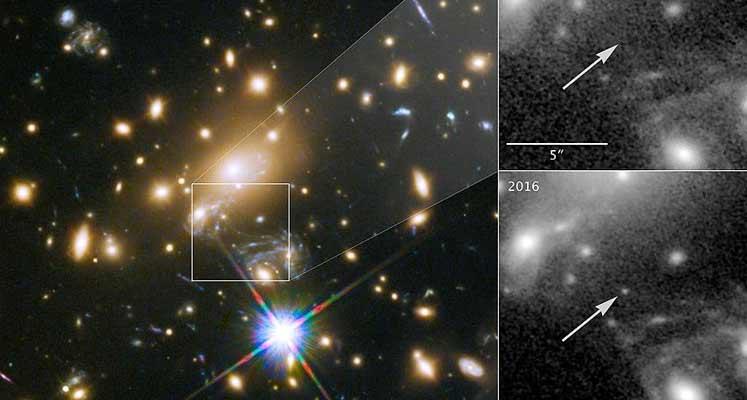 Photo of Bugüne dek görüntülenen en uzak yıldız