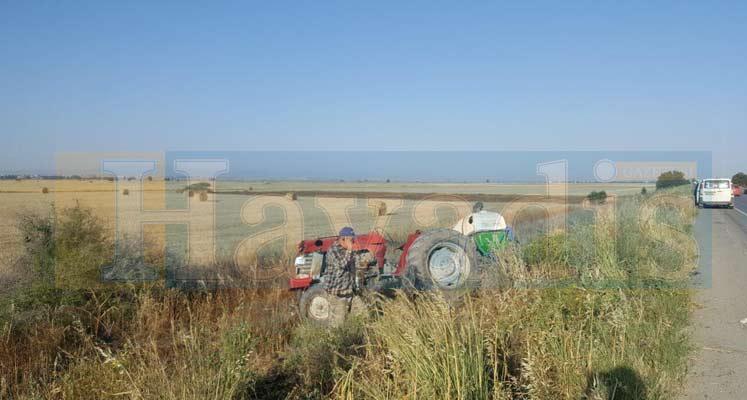 Photo of Traktörle salon araç çarpıştı: 2 Yaralı