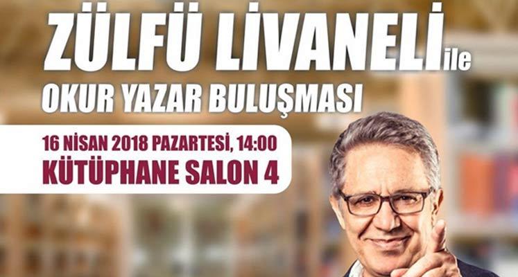 Photo of Zülfü Livaneli okurlarıyla buluşuyor