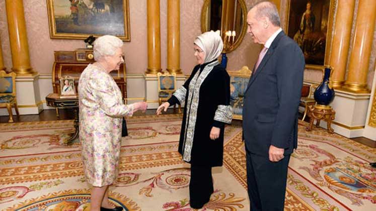 erdoğan kraliçe