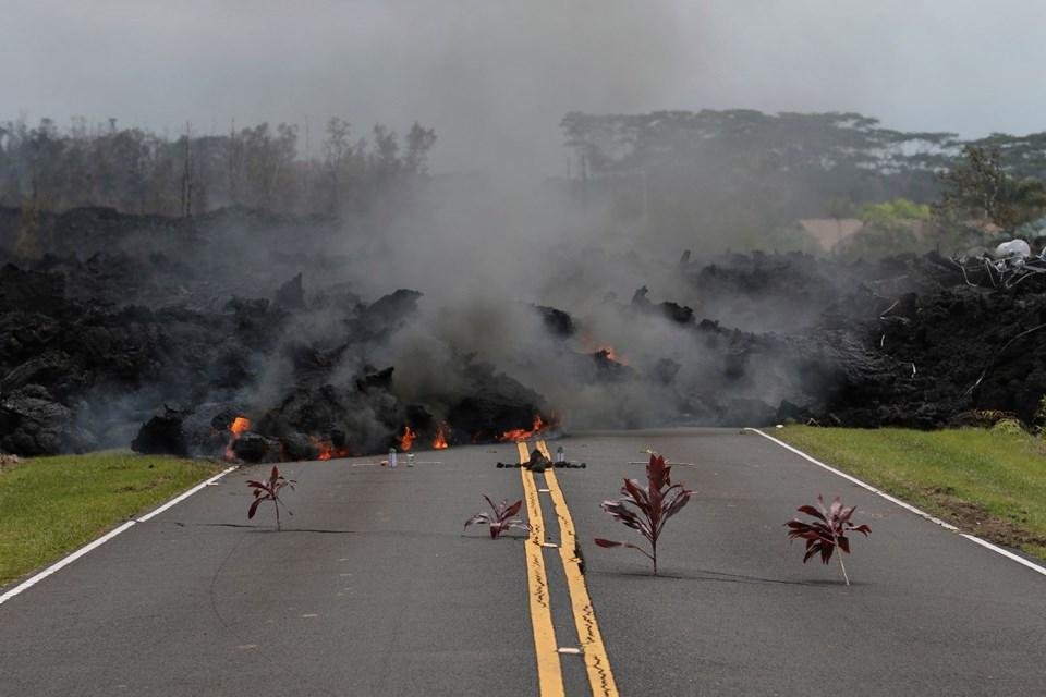 Photo of Hawaii'de lavlar santrale ulaştı