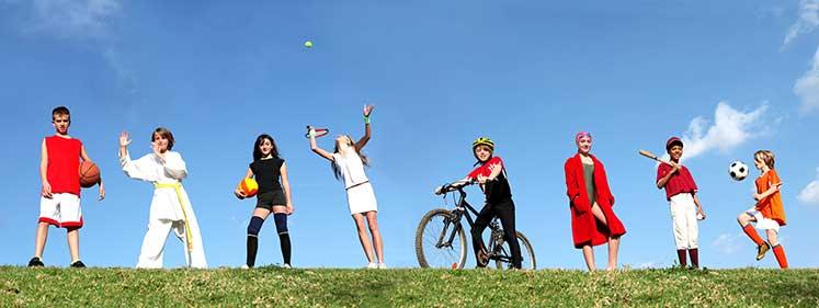 Photo of Aktif, Mutlu ve Sağlıklı Çocuklar
