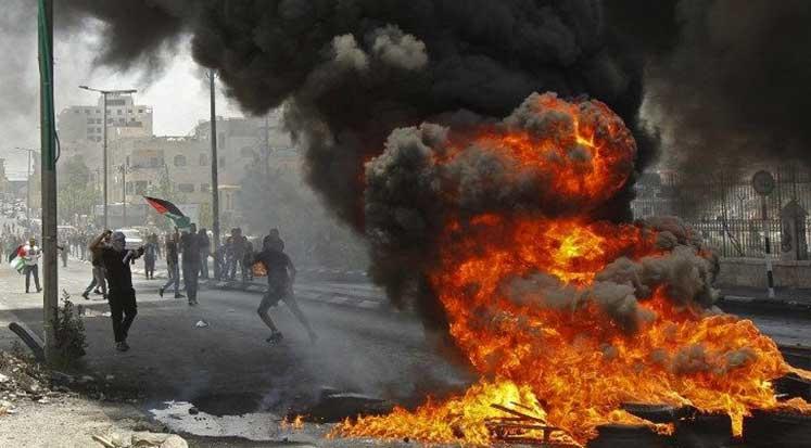 Photo of İsrail Kıyımının ardından Batı Şeria'da çatışma