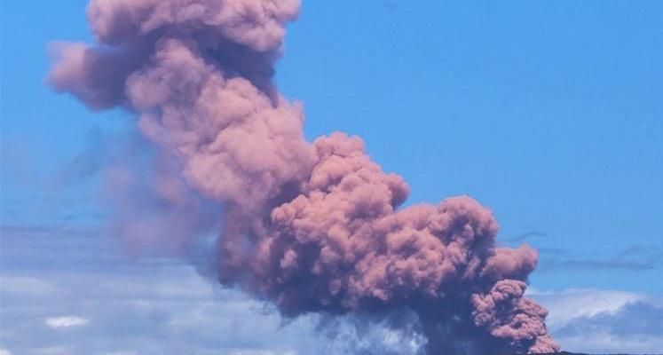 Photo of Hawai'de volkan patladı!