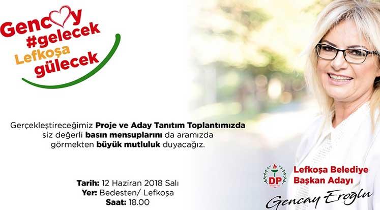 Photo of Gencay Eroğlu projelerini kamuoyuyla paylaşacak