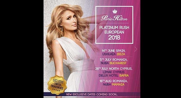 Photo of Paris Hilton Kuzey Kıbrıs'a geliyor