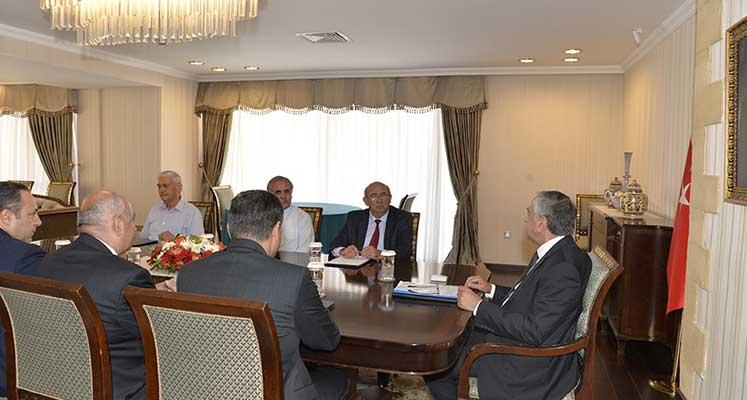 Photo of Cumhurbaşkanı Akıncı, Özyiğit ile görüştü