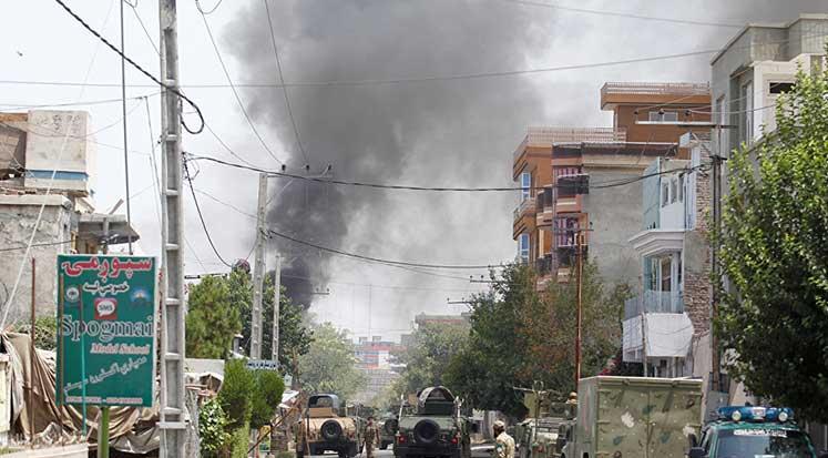 Photo of Afganistan'da ebelik eğitimi merkezine saldırı