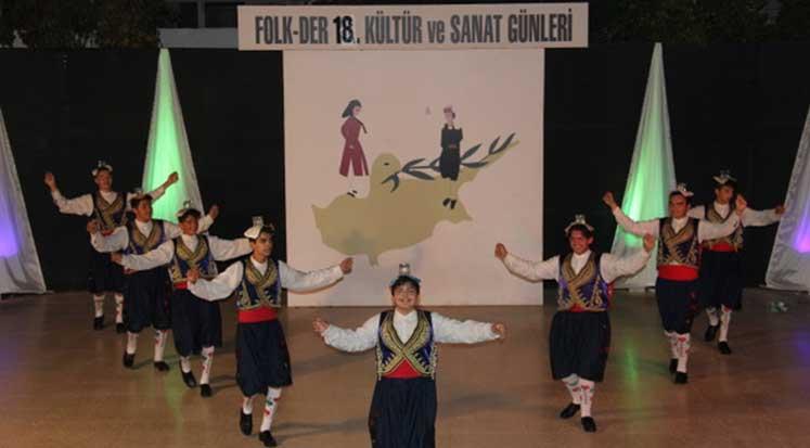Photo of FOLK-DER Kültür ve Sanat Günleri gerçekleştirildi