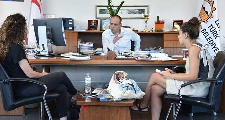 Photo of Harmancı, Kuir Kıbrıs Aktivistleri ile görüştü