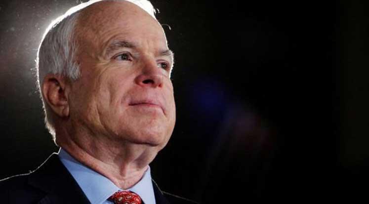Photo of McCain vasiyetinde cenazesine Trump'ı istemedi