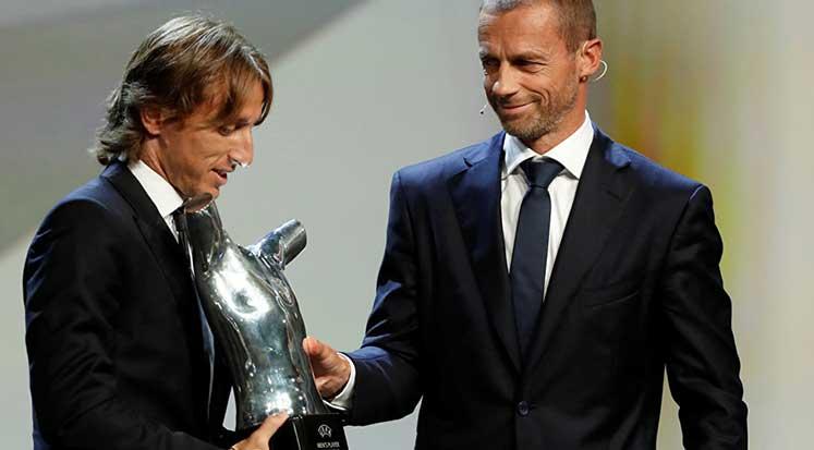Photo of Modric, Avrupa'da yılın futbolcusu seçildi