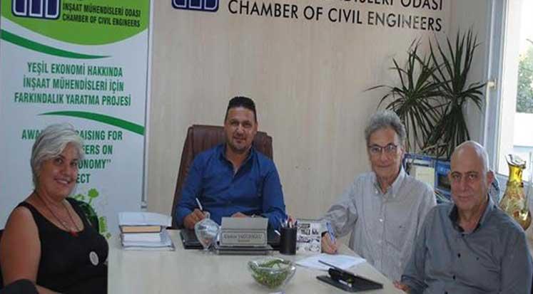 Photo of İMO, Yeşil iş fırsatları yazanağı hazırlıyor