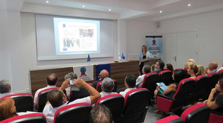 Photo of Sonuç Odaklı Eğitim Projesinin konferansı gerçekleşti
