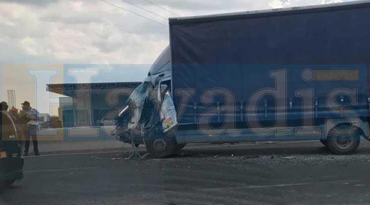 Photo of Haspolat Sanayi girişinde feci kaza