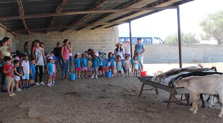 Photo of Montessori çocukları Çelebi Çiftliği'ni şenlendirdi