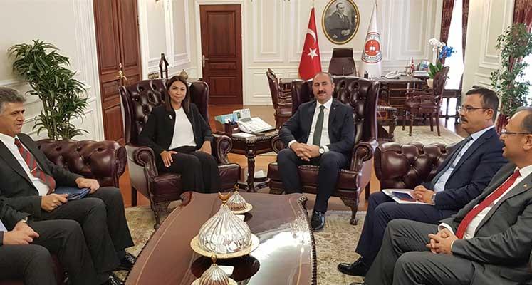 Photo of Baybars Ankara'da Adalet Bakanı Gül'le görüştü