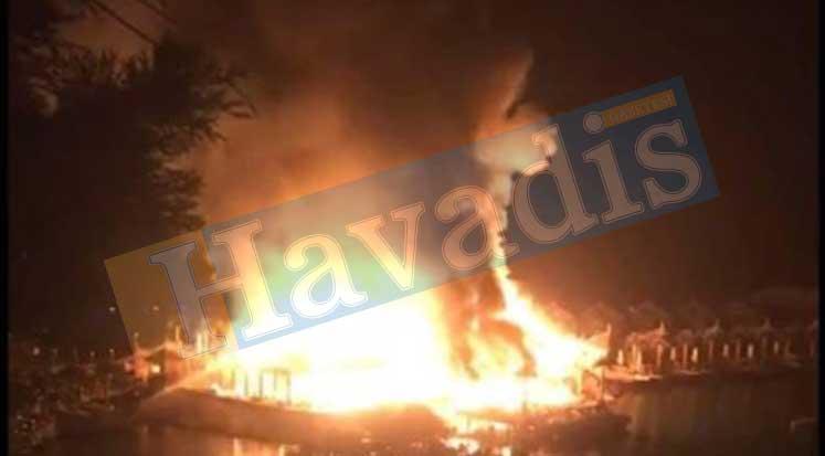 Photo of Cratos Otel'de yangın