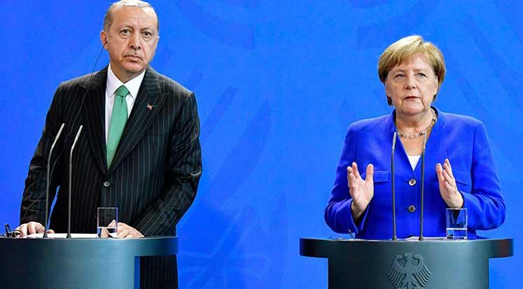 Photo of Merkel ile Erdoğan arasında Can Dündar ve Fethullah Gülen anlaşmazlığı