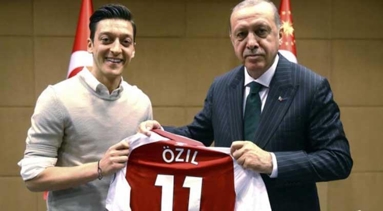 Photo of Erdoğan: Özil milli takımdan boşuna ayrılmadı