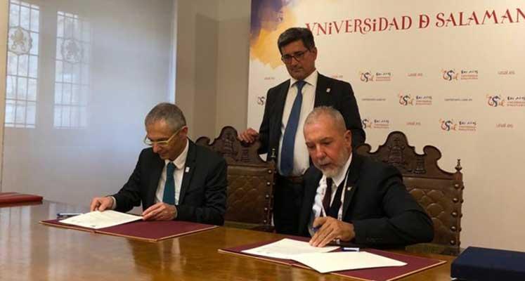 Photo of GAÜ ve Salamanca Üniversitesi arasında akademik protokol imzalandı