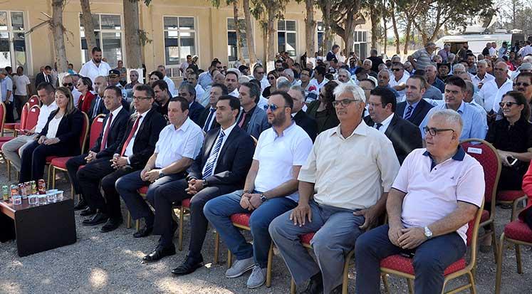 Photo of Güzelyurt Merkezi Sulama Projesi törenle açıldı