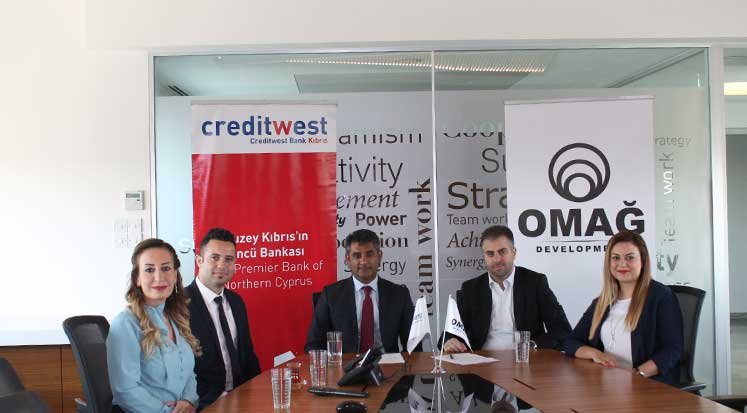 Photo of Omağ Intens için finansman garantörlüğü Creditwest Bank'tan
