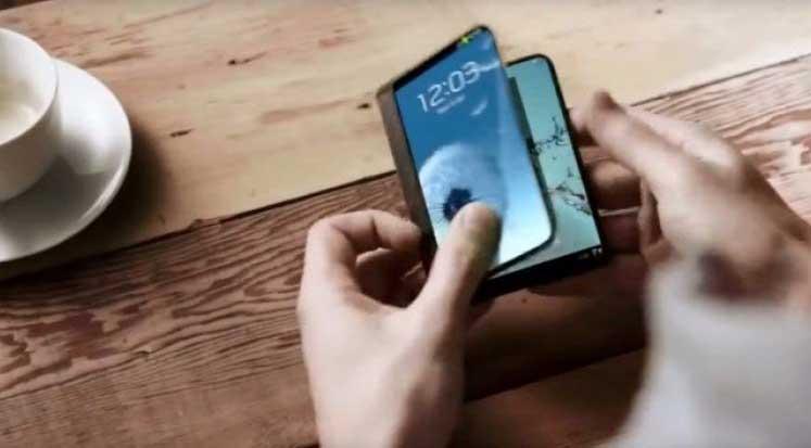 Photo of Samsung katlanabilir telefon için tarih verdi