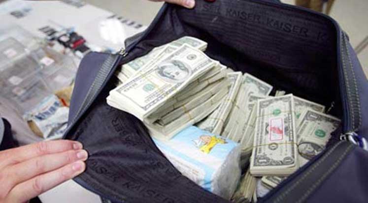 Photo of 150 bin USD ile Ercan'da yakalandı