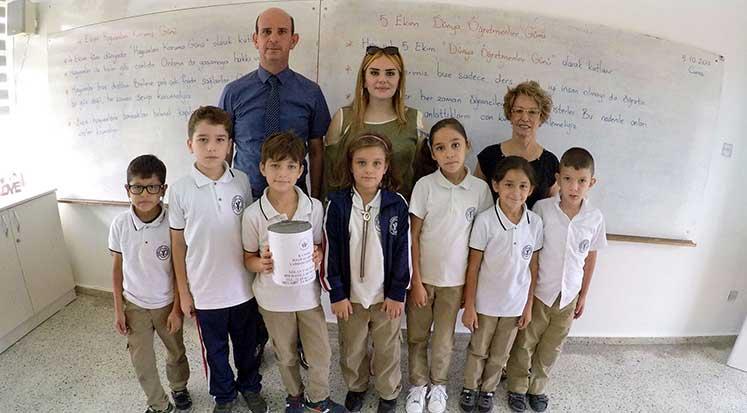 Photo of Lefkeli öğrencilerden kanser hastalarına destek