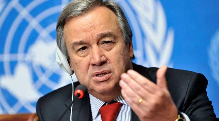 Photo of BM Genel Sekreteri Guterres, 31 Ekim'de Türkiye'yi ziyaret edecek
