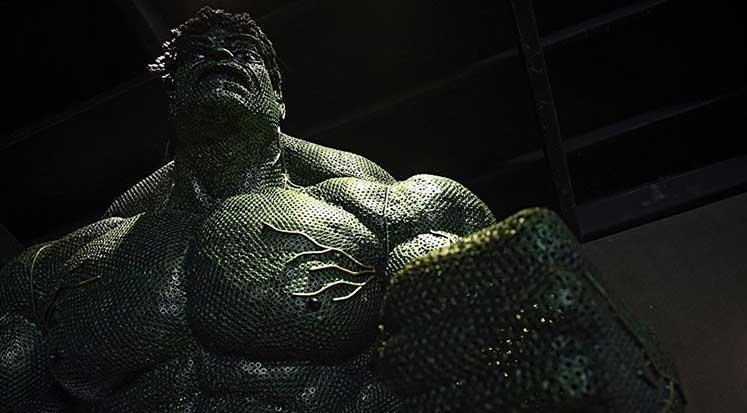 NASA - Hulk - Mjolnir - Godzilla
