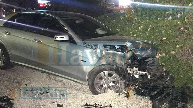 Photo of 2 araç yüz yüze çarpıştı: Yaralılar var!
