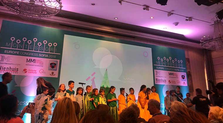 Photo of Kıbrıs Montessori Okulları Sofya'da temsil edildi