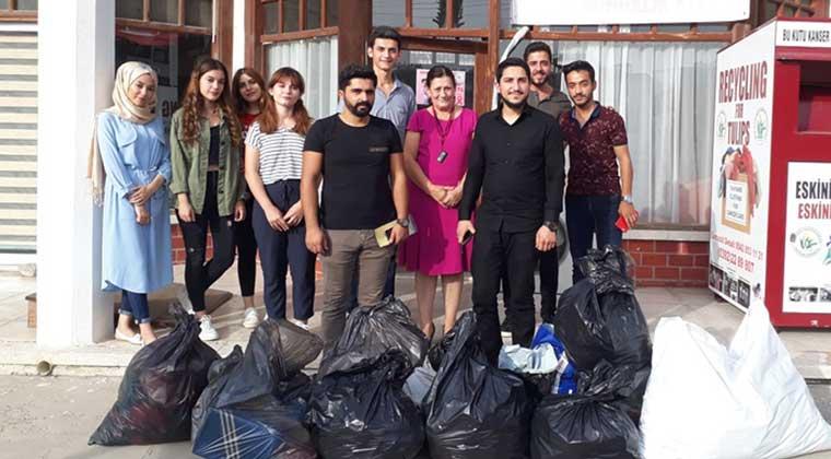 Photo of KISBÜ'den kanser hastalarına yardım