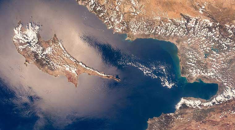 Photo of Alman astronot Kıbrıs'ı unutmadı