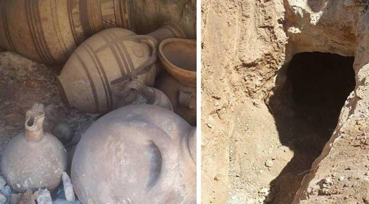 Tatlısu antik mezar