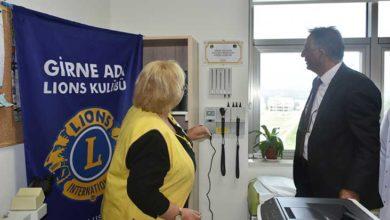Photo of Girne Ada Lions Kulübü çocuk onkoloji servisi'ne cihaz bağışı