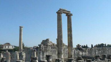 Photo of Apollon Tapınağı batıyor