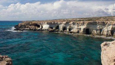 Ayia Napa deniz mağaraları