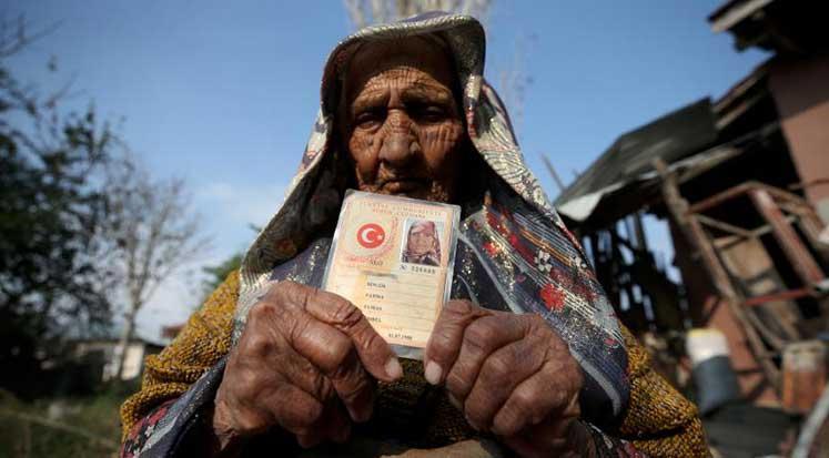 Fatma Bingöl 118 yaşında