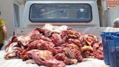 Photo of 392 kilo kaçak sığır eti yakalandı