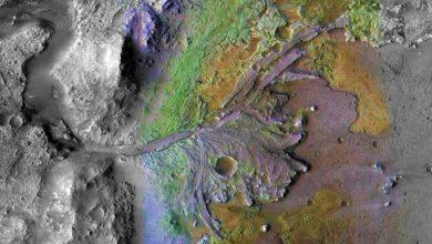 NASA Mars Jezero krateri