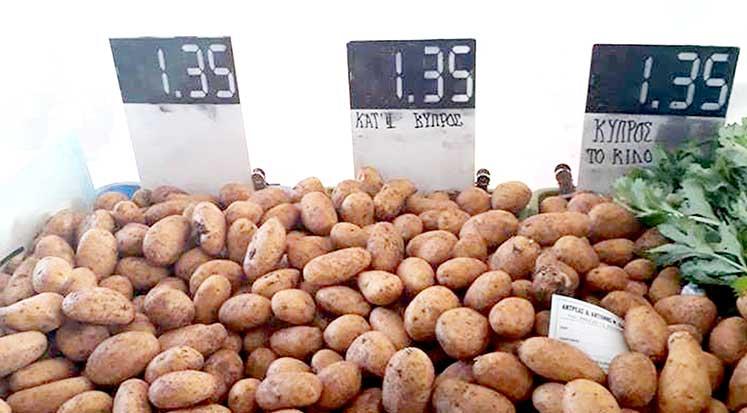 Patates fiyatları
