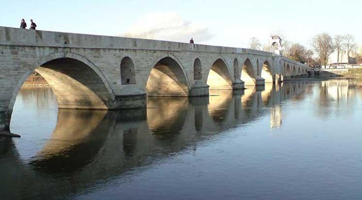 Edirne Meriç Köprüsü