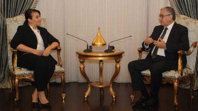 Photo of BRTK  Müdürü Aysu Basri Akter, Cumhurbaşkanı Akıncı'yı ziyaret etti