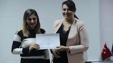 Photo of Akter, DAÜ öğrencileriyle deneyimlerini paylaştı