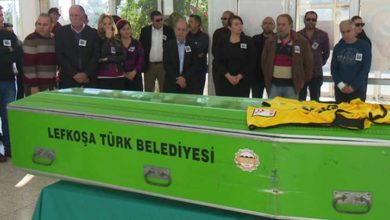 Photo of Raif Özgüren, son yolculuğuna uğurlanıyor