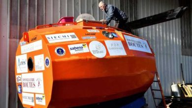 Photo of Fransız maceraperest varil şeklindeki kapsül içinde Atlas Okyanusu'nu geçmeye hazırlanıyor