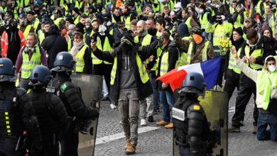 Photo of Fransa'da sarı yeleklilere sert ceza getiren yasaya onay